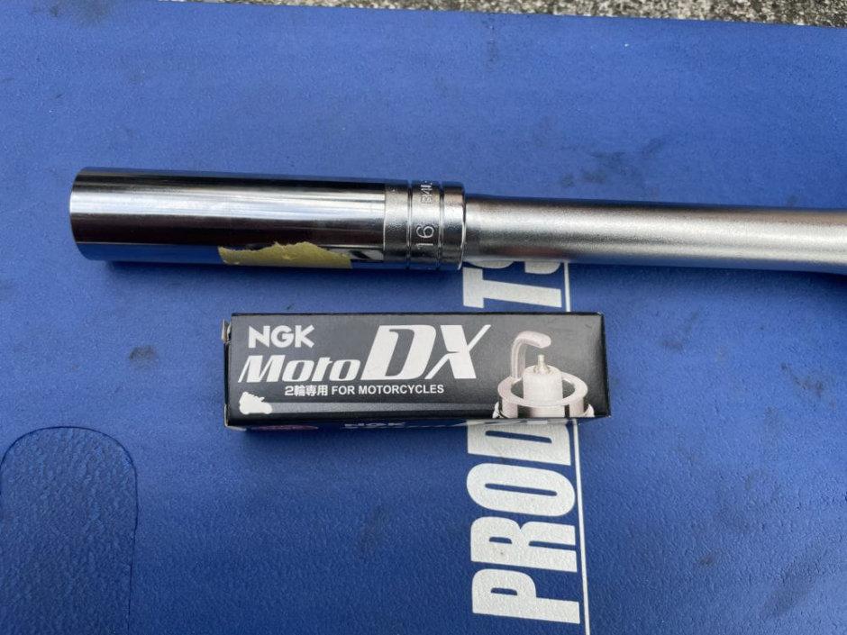 【NGK】DXプラグの取り付け
