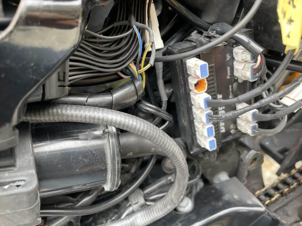 drogger油温センサー(ドロガーのT2に接続)